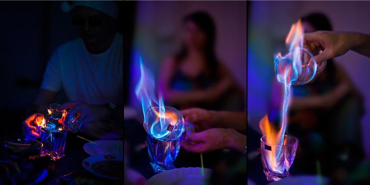 Почему горит самбука