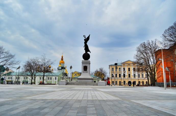 Харьков весной