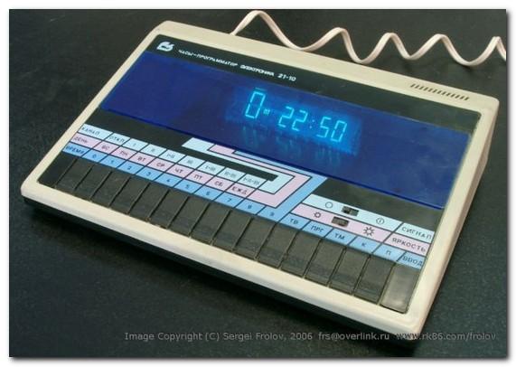 """Когда-то в советские времена у меня были Часы-программатор  """"Электроника 21-10 """".Очень пользительная была штука."""