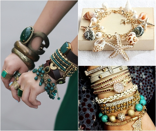 Модные браслет своими руками