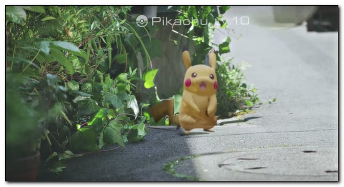 ����� � ����� ���� Pokemon Go