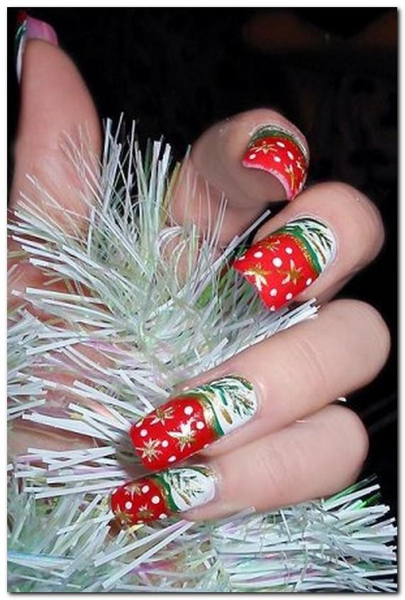 Дизайн ногтей на новый год 2016-2017 гель