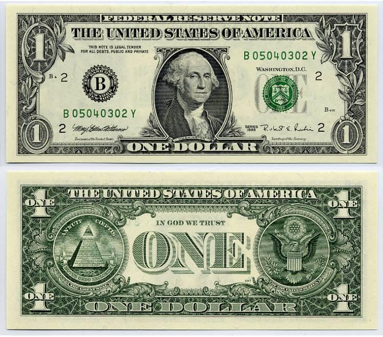 История и тайна одного доллара history and