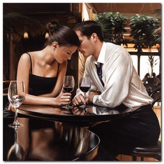 Картинка мужчина и женщина в чувствах