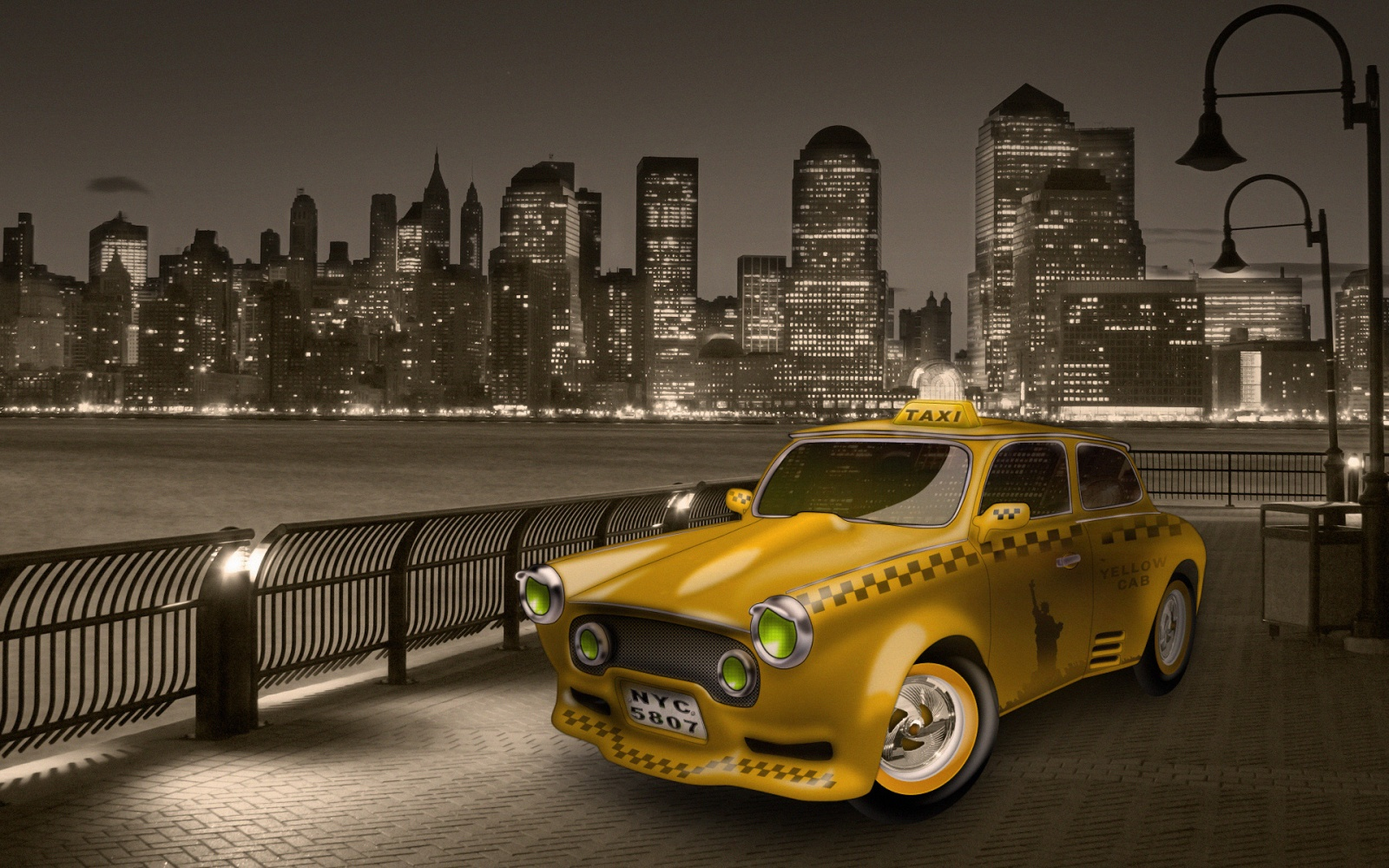 Такси! Такси! Интересное о такси