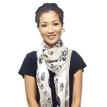 50 способов красиво завязать шарф и платок .  Шарфы и платки есть в...