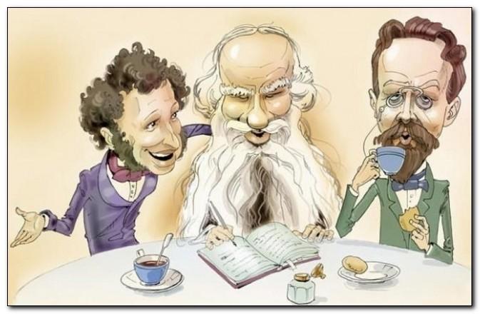 Картинки по запросу анекдот про писателей