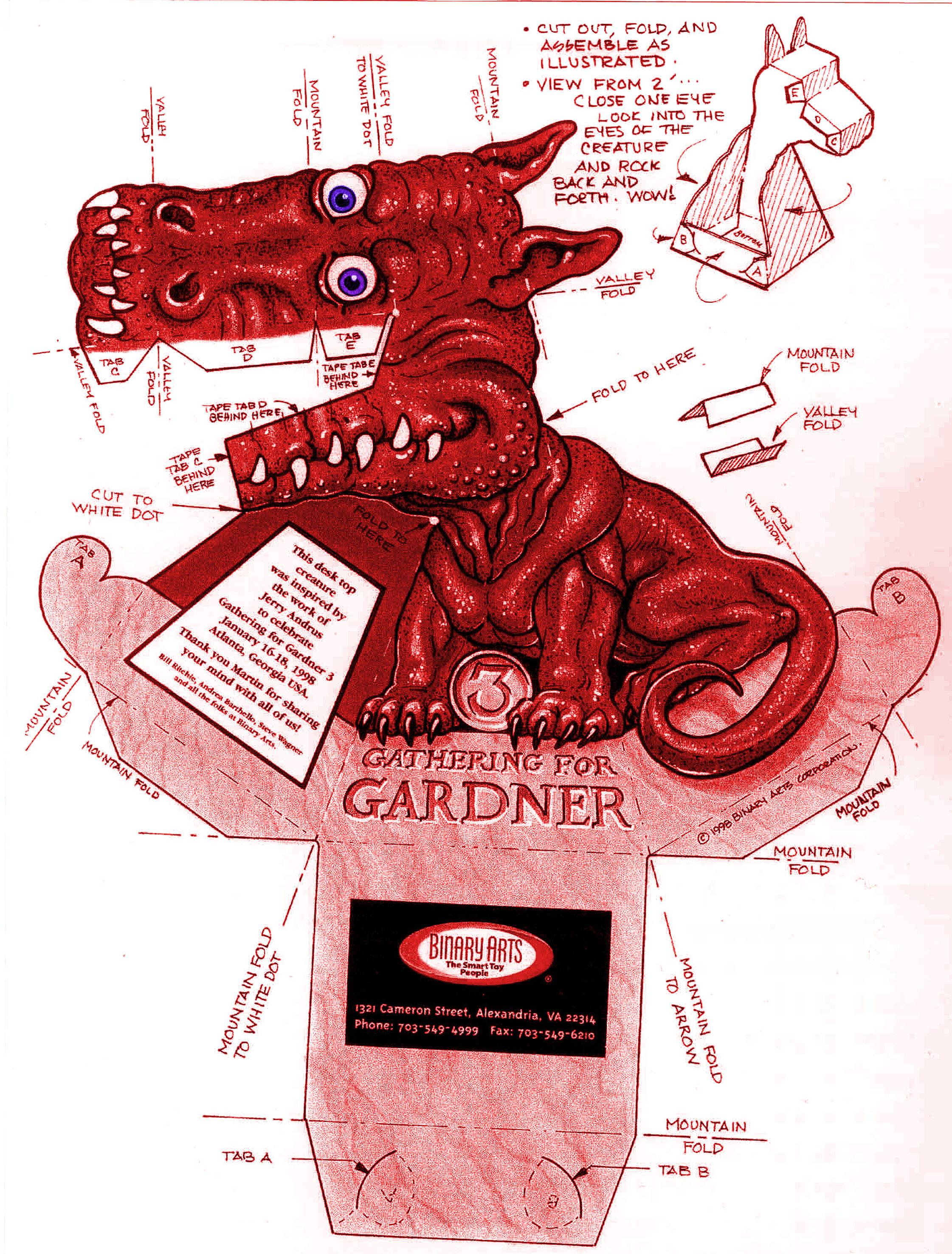 Бумажный дракон наблюдает за вами! (видео + инструкция с выкройками разных цветов)
