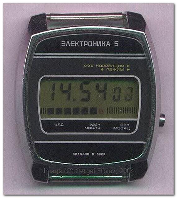 Электронные часы своими руками фото