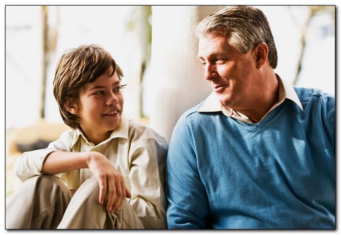 Разговор отца с сыном на тему секс