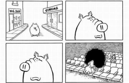 Свинья в кино