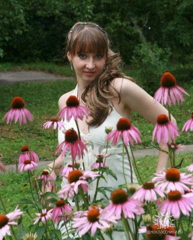 Богиня цветов!