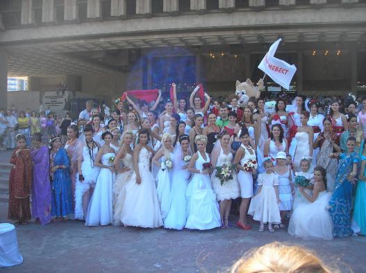 Парад невест 4 в Харькове 2011